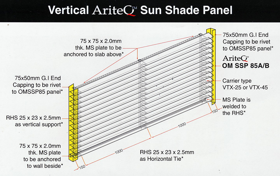 Vertical-sun-shade-panel