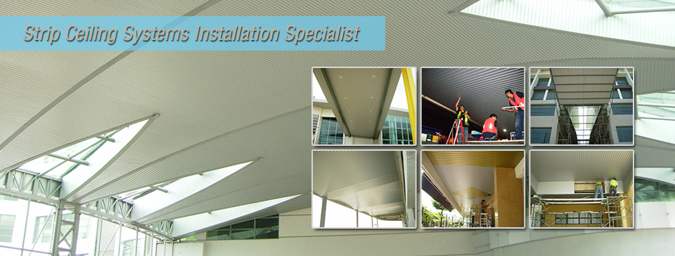 strip-ceiling-installation