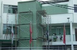 Sun Louvres Installation For School Building – International School Petaling Jaya