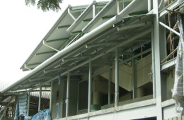 Aluminium Strip Ceiling Installation For LRT Station – LRT Station Bandar Tun Razak