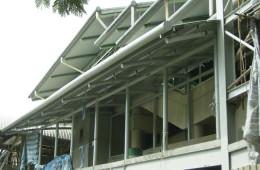 Aluminium Strip Ceiling Installation For LRT Station – LRT Station Bandar Tun Razak