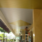 Aluminium Strip Ceiling Installation For University Buiding – Universiti Pertanian Serdang
