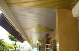 Aluminium Strip Ceiling Installation For University Buiding – Universiti Pertanian Serdang