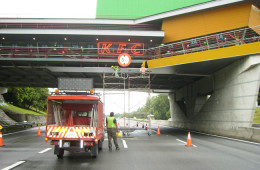 Strip Ceiling Installation For Skybridge – Air Keroh Melaka