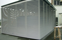 Sun Louvres Installation For Commercial Building – Ampang