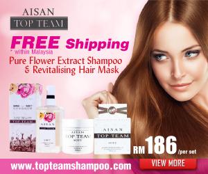 Aisan Top Team Haircare Shampoo Malaysia